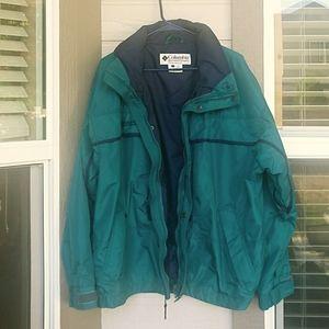 Columbia Men's Green Jacket Size L